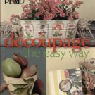 Decoupage The Easy Way--Plaid