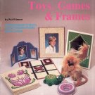 Toys, Games and Frames--Plaid #7486--Plastic Canvas Needlepoint E