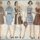 Vogue Pattern 2177--Misses' 1 Piece Dress & Jumper--Size 14