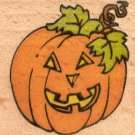 "Jack-O-Lantern Rubber Stamp--1.75"" X 1.5"""