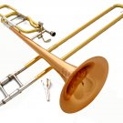 Pro-Grade Zweiss Bb/F Trigger Tenor Trombone. 2017. Ultra Low Price Gold-Lacquer