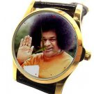 SRI SATHYA SAI BABA OF PUTTAPARTHY ORIGINAL PHOTO ART COLLECTIBLE WRIST WATCH