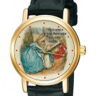 VINTAGE PETER RABBIT BEATRIX POTTER ORIGINAL ART COLLECTIBLE WRIST WATCH