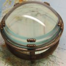 LOUPE MAGNIFYING GLASS TABLE MAGNIFIER CARTOGRAPHY COINS DOCUMENTS ORIGINAL