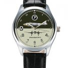 MESSERSCHMITT BF-110 WW-II COMMEMORATIVE LUFTWAFFE ORIGINAL ART COLLECTORS WATCH