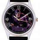 RARE THE PHANTOM, GHOST WHO WALKS, GOOD & EVIL RINGS, 40mm COMIC ART WRIST WATCH