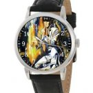 VINTAGE IMPRESSIONIST ART ELVIS PRESLEY THE KING COLLECTIBLE 40 mm WRIST WATCH