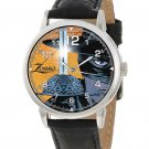 THE SWORD OF EL ZORRO STUNNING BANDIDO POSTMODERN ART COLLECTIBLE WRIST WATCH