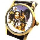 VINTAGE COLORS WIZARD OF OZ POSTER ART COLLECTIBLE GIRLS /  WOMEN'S WRIST WATCH