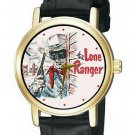 SUPER RARE! LONE RANGER SKETCH ART 30 mm COLLECTIBLE WRIST WATCH MINT / PERFECT!