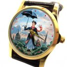 MARY POPPINS RARE HOLLYWOOD POSTER ART COLLECTIBLE WOMEN'S /  GIRLS' WRIST WATCH