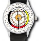 SPECTACULAR SHAMAN MEDICINE HEALING WHEEL INDIAN ART DOCTOR'S COLLECTIBLE WATCH