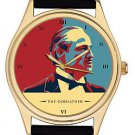 THE GODFATHER: WARHOLESQUE MARLON BRANDO HOLLYWOOD ART COLLECTIBLE WRIST WATCH