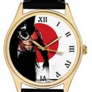FANTASTIC WOLVERINE X-MEN POSTER ART COLLECTIBLE 40 mm HEAVY BRASS WRIST WATCH