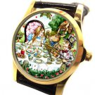 ALICE IN WONDERLAND, THE MAD HATTER, RARE 1990s WOMEN'S / GIRL'S WRIST WATCH