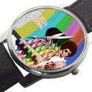 SLY AND THE FAMILY STONE, RARE 1970s POP ART LARGE 40 mm COLLECTIBLE WRIST WATCH