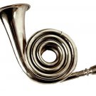 NEW ZWEISS FRENCH COR HUNTING BUGLE WITH MULTIPLE LOOPS. GREAT SOUND!