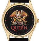 VINTAGE QUEEN FREDDIE MERCURY INSIGNIA / LOGO HIGH-QUALITY 44 mm WRIST WATCH