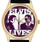 STUNNING ELVIS LIVES DETROIT POLICE MUGSHOT WARHOLESQUE POP ART COLLECTORS WATCH