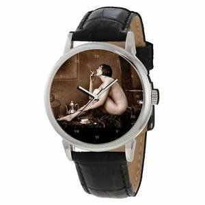SMOKING HOT CLASSIC VINTAGE EROTICA 40 mm CUSTOM-MADE COLLECTOR'S EDITION WATCH
