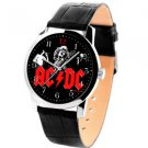 VINTAGE 1990s AC/DC ROCK CONCERT PROMO ART BIG 40 mm COLLECTIBLE WRIST WATCH