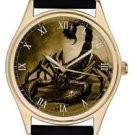 KICKASS SEPIA SCORPION ART SCORPIO ZODIACAL ASTROLOGY COLLECTIBLE WRIST WATCH