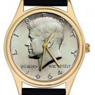 USA PRESIDENTIAL ART JOHN F. KENNEDY JFK MEMORIBILIA COLLECITBLE WRIST WATCH