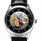 FANTASTIC VINTAGE ART POPEYE THE SAILOR MAN US COAST GUARD COLLECTOR WRIST WATCH
