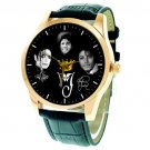 FANTASTIC MICHAEL JACKSON KING OF POP COMMEMORATIVE LARGE 40 mm COLLECTORS WATCH