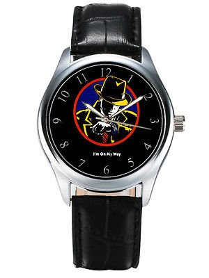 "DICK TRACY ""I'M ON MY WAY"" CLASSIC WARREN BEATTY HOLLYWOOD AR WRIST WATCH, 40 mm"