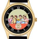 VERY RARE FAB FOUR THE BEATLES SERGEANT PEPPER ART JUMBO 44 mm WRIST WATCH
