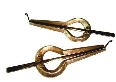 1/C + 5/G SET OF 2 ARTISTE-TUNED CARNATIC MORSING  JEW'S HARP LAMELLOPHONE
