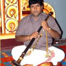 SUPERB PRO-GRADE NADASWARAM NAGESHWARAM SOUTH INDIAN CARNATIC OBOE IN ROSEWOOD