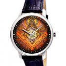 Rare Colorful 1930s Symbolic Freemsaonry Art Collectible 40 mm Wrist Watch