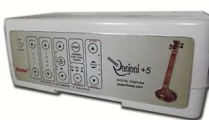 RADEL RANJANI +5 ELECTRONIC TANPURA STRING TAMBORA TAMBURA RAAGINI TAAL TARANGCA