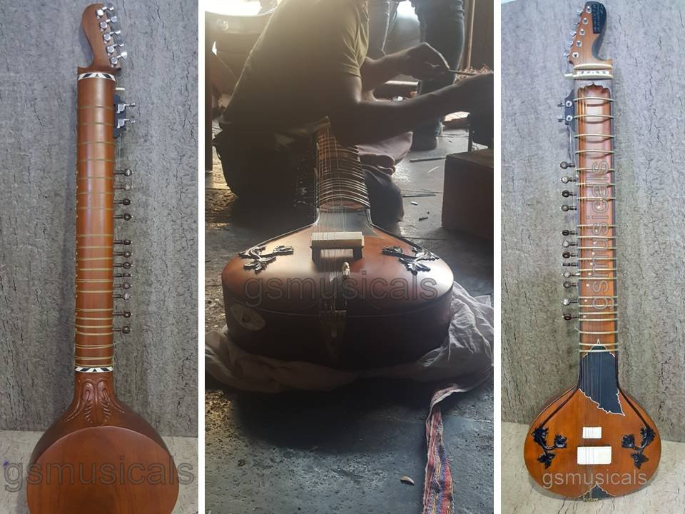 SITAR ELECTRIC FUSION WITH GIG BAG GSM070 CA