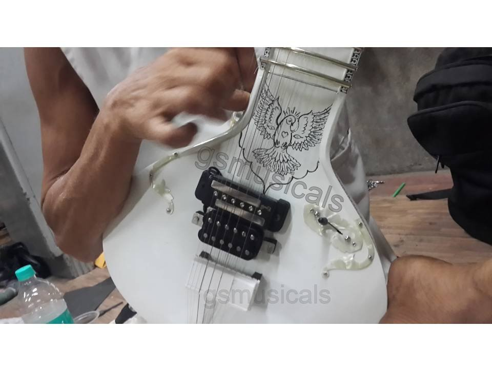 SITAR ELECTRIC FUSION WITH GIG BAG GSM069
