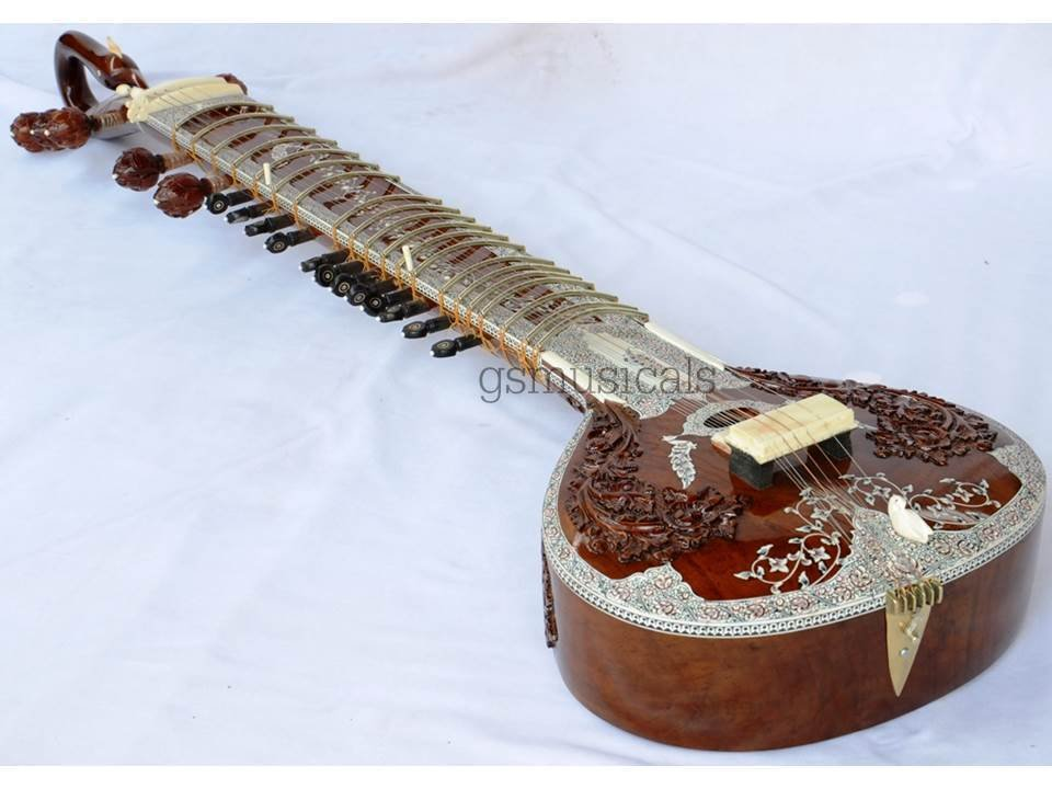 SITAR ROYAL DECO FUSION ELECTRIC TRAVEL SITAR GSM022 CA