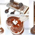 SITAR ROYAL TEAK WOOD WITH FIBERGLASS CASE PROFFESSIONAL SITAR GSM058GS#