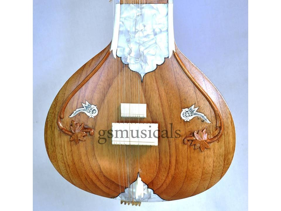 SITAR FUSION GRAINY ELECTRIC SITAR WITH BIRD HEAD GSM060 CA