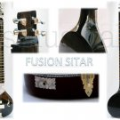 SITAR ELECTRIC BLACK PEARL ELECTRIC STUDIO FUSION MODEL GSM012 CA