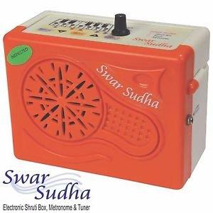 ELECTRONIC SHRUTI BOX SWAR SUDHA SUR-PETI DRONE TUNER METRONOME 1YR WARRANTY