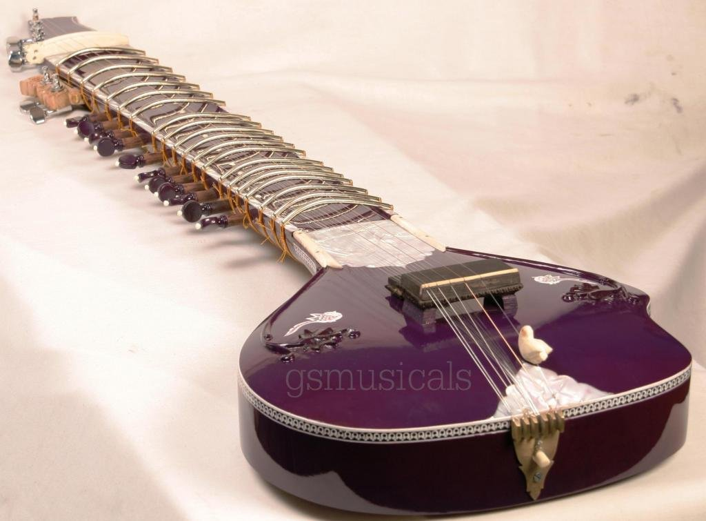 SITAR ULTRA PRO ELECTRIC WITH GIG BAG GSM020