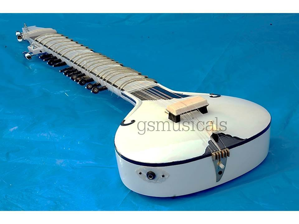 SITAR FUSION STUDIO WITH FIBERGLASS CASE GSM036