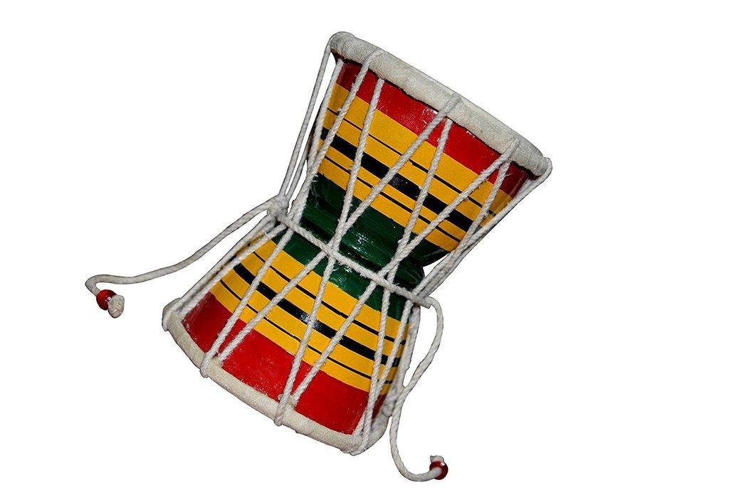 INDIAN DAMRU - DRUM - MUSICAL INSTRUMENT - INDIAN MUSICAL INSTRUMENT GSMA046 CA
