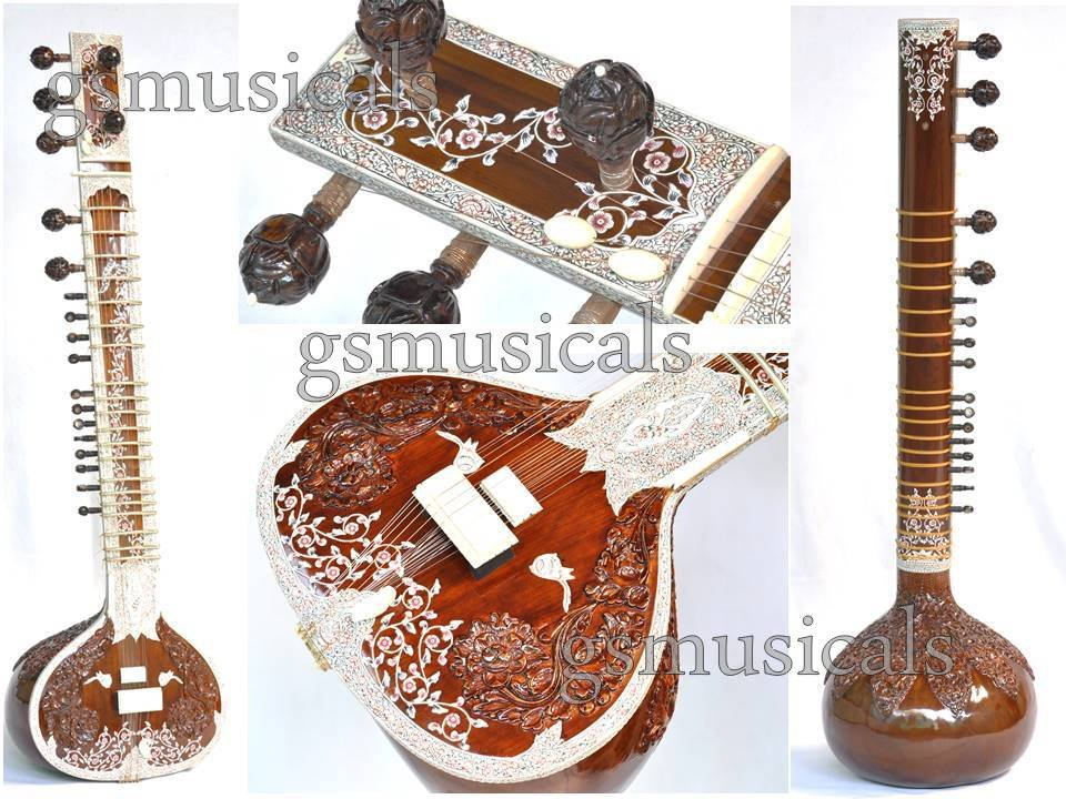 SITAR ROYAL PRO WITH FIBREGLASS CASE GSM058 CA