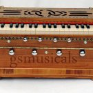 HARMONIUM TEAKWOOD STANDARD MODEL WITH DUAL REED BOARD GSM044