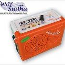 ELECTRONIC SHRUTI BOX SWAR SUDHA~METRONOME~TUNER~SUR PETI~DRONE~1 YEAR WARRANTY