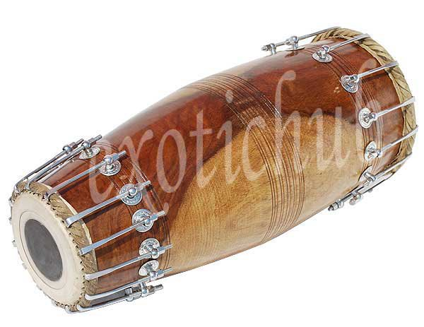 MRIDANGA DRUM SHESHAM WOOD~MRIUDANG~MRIDANGAM~MRIDANG~NORTH INDIAN~YOGA~KIRTAN~
