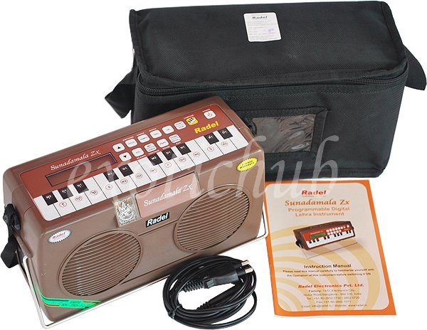 ELECTRONIC LEHRA-NAGMA~SUNADAMALA ZX~BY RADEL~HARMONIUM-INTERFACE~LCD DISPLAY
